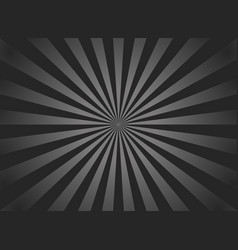 Black sunburst background retro background with vector
