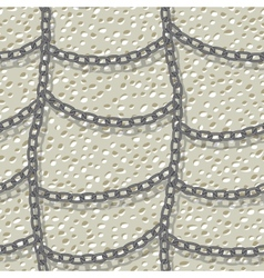 Chain seamless background vector