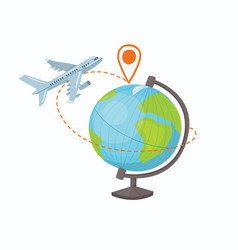 destination concept vector image