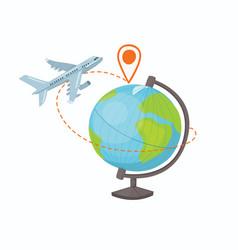 destination concept vector image