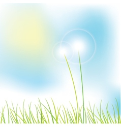 Grass - background vector image