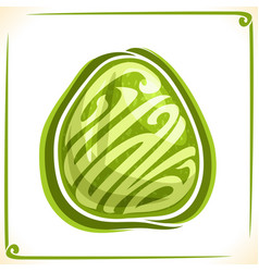 Logo for guava vector