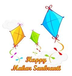 Makar Sankranti vector image