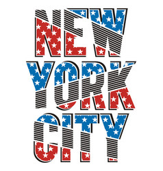New york city stars vector