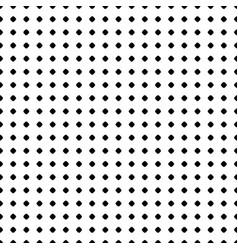 Polka dot pattern seamless texture black white vector