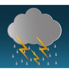 Rain icon design vector