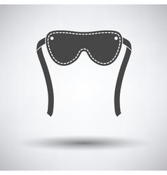 Sex eyes bandage icon vector image