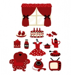 household goods vector image vector image