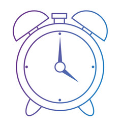 alarm time clock isolated icon vector image