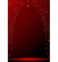 Beaded curtain vector