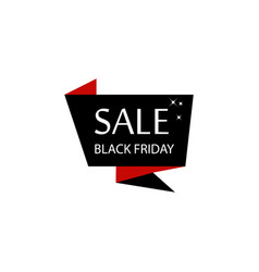 black friday poster multicolored icon element of vector image