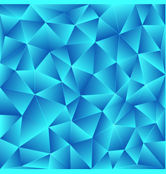 Bright blue polygonal background vector