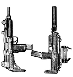 combat weapons 2 vector image