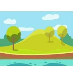 Game Background Seamless vector image