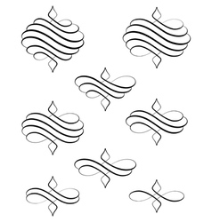 Helical swirl bis vector image