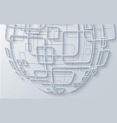 Modern techology concept background global vector