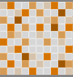orange tile texture vector image