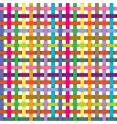 ribbons pattern vector image