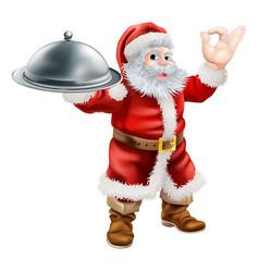 Santa chef vector