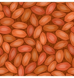 red seed coat seamless background vector image vector image