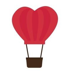 balloon love romantic emotions design vector image