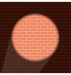 modern brick wall background vector image