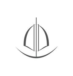 shield logo vector image