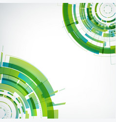 abstract virtual technology modern template vector image