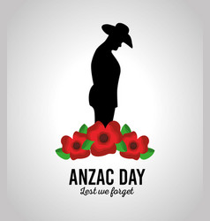 Anzac day lest we forget patriotism national vector
