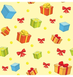 decorative background for holiday vector image