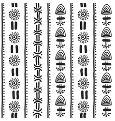 Ethnical pattern vector