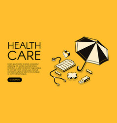 healthcare medical halftone vector image