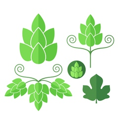 Hop Set vector image