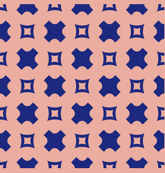 simple geometric seamless pattern with squares vector image