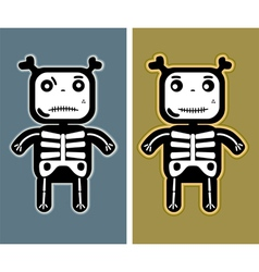 funny child bones vector image vector image