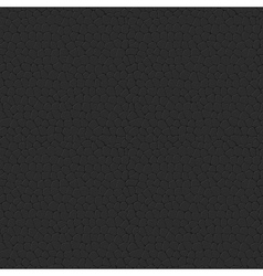 Seamless Leather Texture Black Leather Tiled vector image