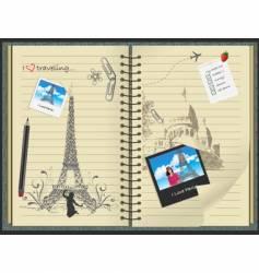 I love Paris vector image vector image
