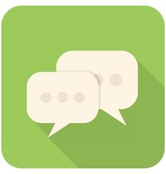 Forum icon vector image