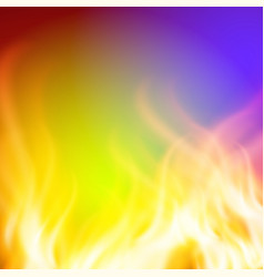 Abstract green purple fire background for your vector