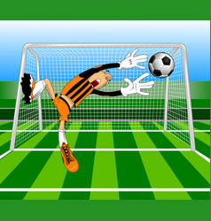 Another great goal vector