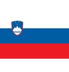 Flag of Slovenia vector