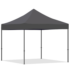 Folding tent vector image