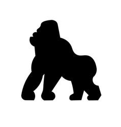 gorilla icon vector image