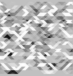 Grayscale futuristic geometric pattern vector