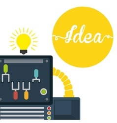 Idea icon design vector
