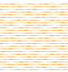 orange yellow hand drawn horizontal stripes vector image