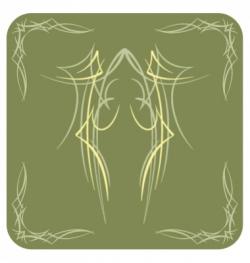 Pinstripe vector