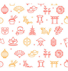 Symbol of china pattern background vector