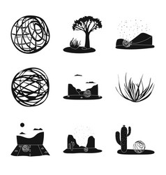 travelling and environment vector image