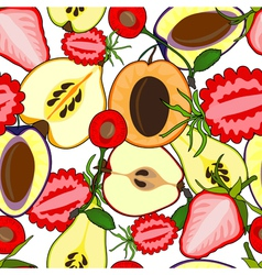 fruit seamless vector image